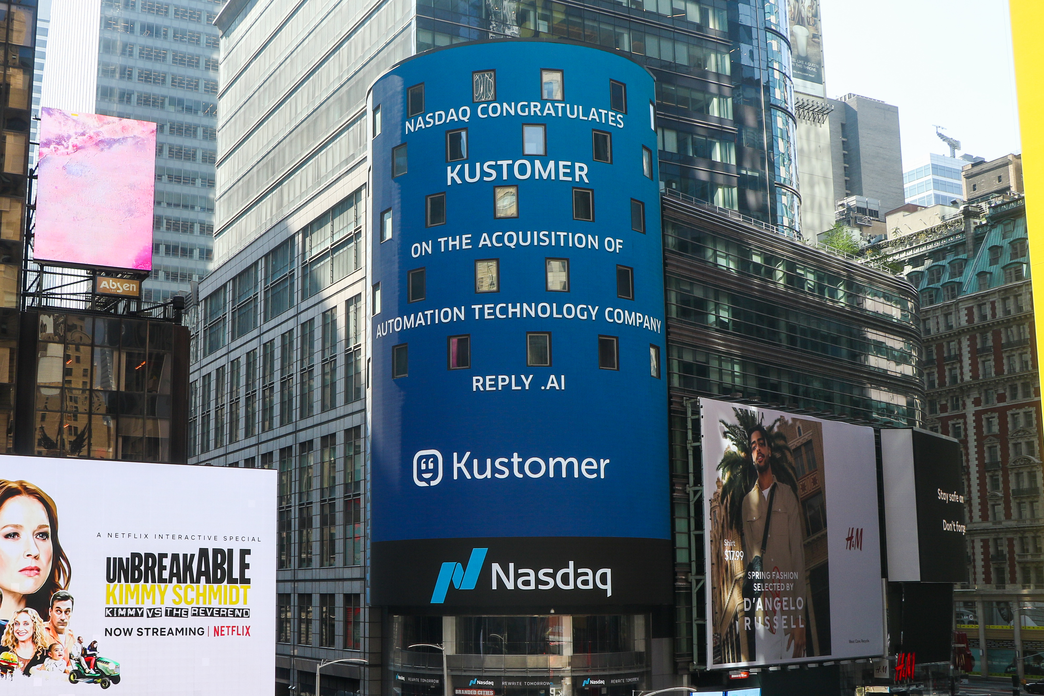 Reply.ai acquired by Kustomer and chatbot fireside chat (last email!)