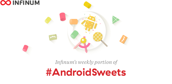 - 9652a05b a9ca 4e0e a0fe 8abcf0cea72d - After a short break, we are back! Enjoy this weeks Android Sweets.
