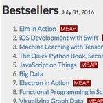 Elm in Action tops bestseller chart
