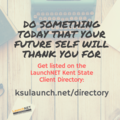 Join the LaunchNET Kent State client directory