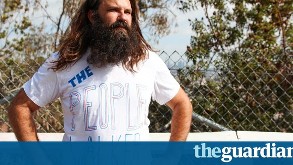 'We need human interaction': meet the LA man who walks people for a living