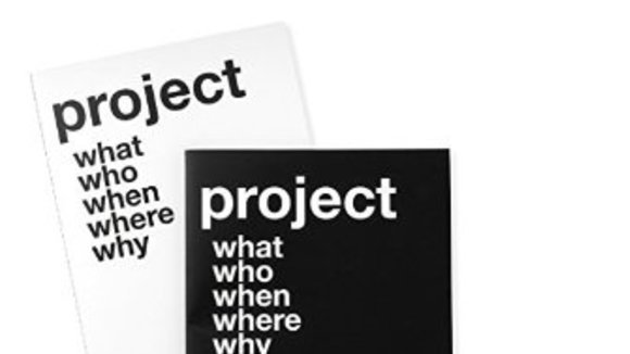 Black and White Project Notebooks