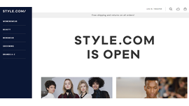 Review of Style.com: Condé Nast's New eCommerce