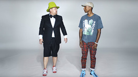 Apple Music: Pharrell Shuts Down James Corden in New Ad