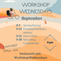 Workshop Wednesday: How to Pitch (yourself or a biz)