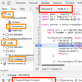 Node.js debugging with Chrome DevTools (in parallel with browser JavaScript)