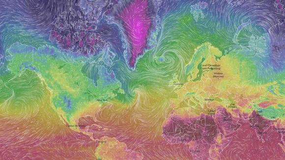 Ventusky - Wind, Rain and Temperature Maps