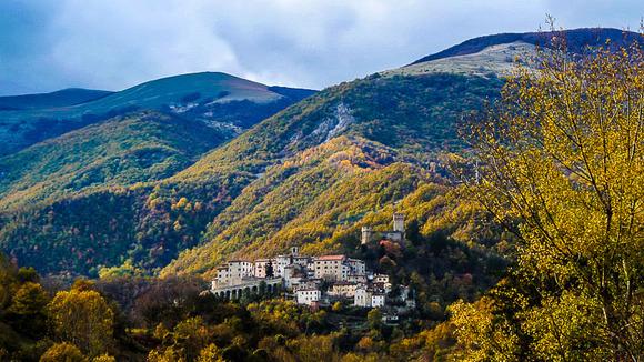 Serafino, een film die werd opgenomen in Amatrice - Italië met Dolcevia.com