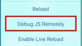 Debugging React Native Applications