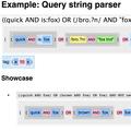 Elm ElasticSearch Query Parser
