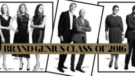 Adweek's Brand Genius Class of 2016