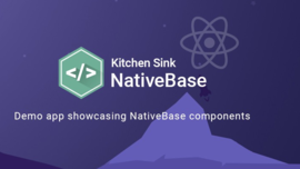 NativeBase Kitchen Sink App