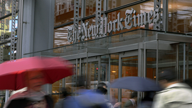 New York Times Reports 18.5 pt Drop In Revenue