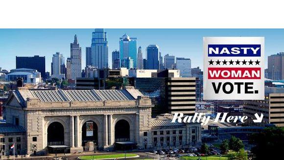 Nasty Women of Kansas City Unite Rally