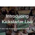 募資平台 Kickstarter 開直播賣產品
