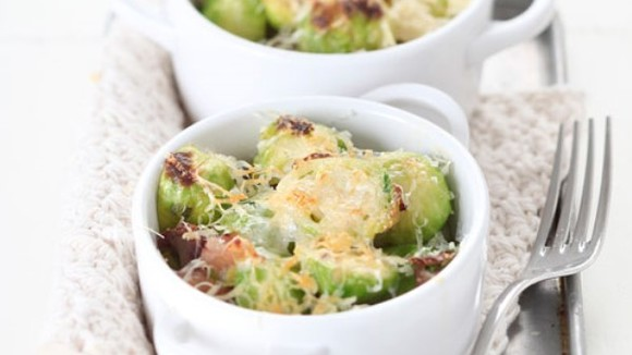 Spruitjes en kastanjes onder de grill - Italië met Dolcevia.com