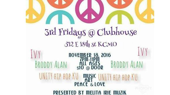 3rd Fridays at Clubhouse