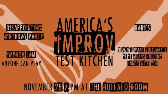 America's Improv Test Kitchen Thanksgiving Show