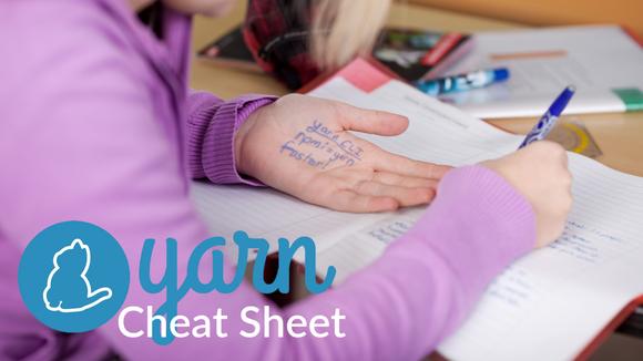 NPM vs Yarn Cheat Sheet