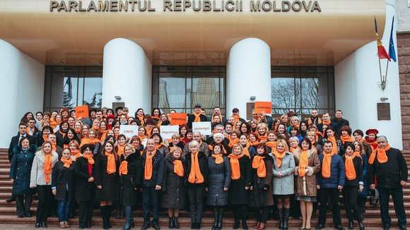 Moldovan Parliament is committed to fight violence against women and girls