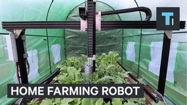 Home farming robot - YouTube