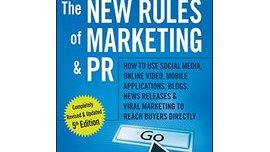 Book: The New Rules of Marketing and PR