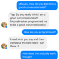 Does Conversation Hurt Or Help The Chatbot UX? – Smashing Magazine