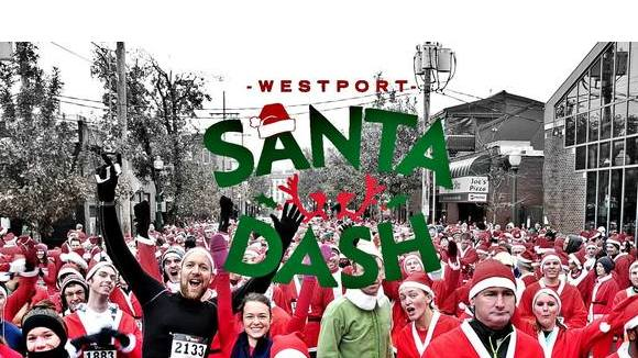 The Westport Santa Dash