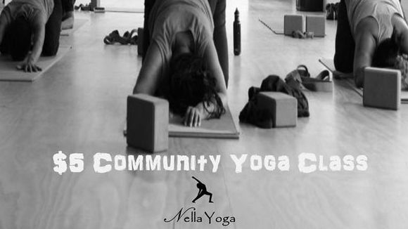 $5 Yoga Community Yoga Class