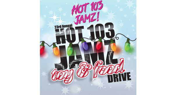 Hot 103 Jamz Toy & Food Drive 2015