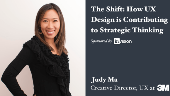 The Shift: How UX Design is Contributing to Strategic Thinking with Judy Ma - Crowdcast