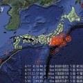 [日] Japan Earthquakes 2011 Visualization Map