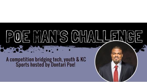 "KC Chiefs' Dontari Poe's ""Poe Man's Challenge"""