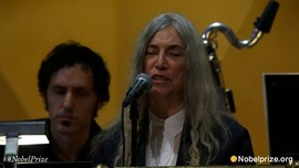 Patti Smith - A Hard Rain's A-Gonna Fall at the Nobel Prize Ceremony