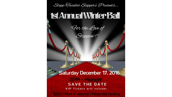 For The Love of Steppin' Winter Ball