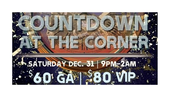 Martini District Countdown @ The Corner