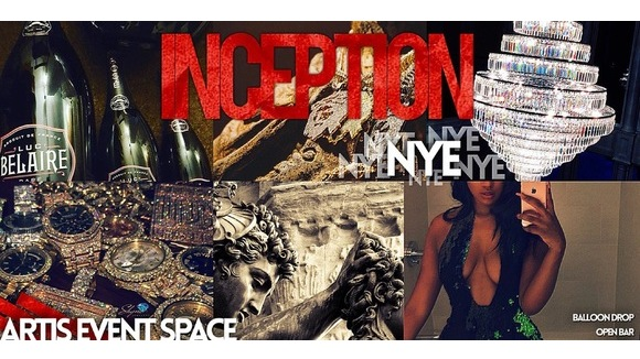 INCEPTION: Belaire Rose's NYE PARTY