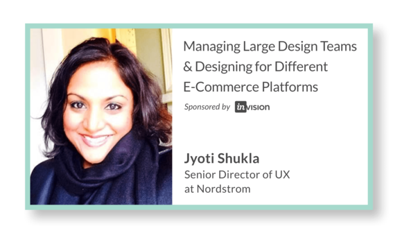 Managing Large Design Teams & Designing for Different E-Commerce Platforms with Jyoti Shukla