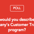 How would you describe your Customer Training program?