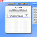 Algebra Bar Method