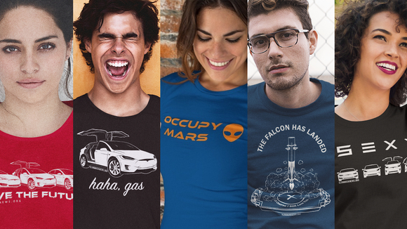 Tesla & SpaceX Themed Apparel | Teespring