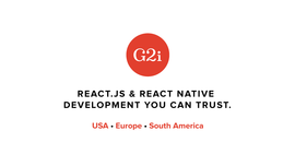 G2i: React.js & React Native Development