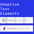 Adaptive Text Elements In Sketch