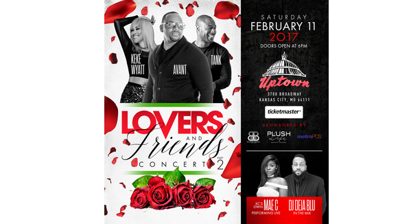 Lovers and Friends Part II Concert with Avant, Tank, Special Guest KeKe Wyatt and KC's Own Mae C
