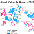 [英] This Map Reveals the Top 2017 Brands for each Country