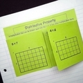 Distributive Law Foldable