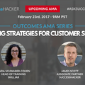 AMA/Live Chat: Training Strategies for Customer Success