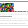 M&Ms and Probability