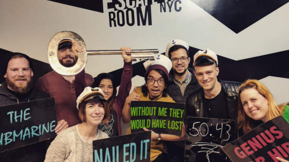 What happens when a bunch of @DesignerHangout members try and escape the room?!The get out of course! And make excellent time 🙌💪
