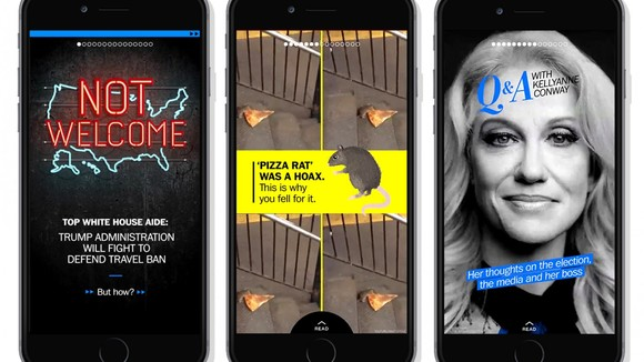 The Washington Post will be the breaking news source on Snapchat's Discover - The Washington Post